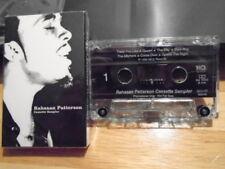 RARE PROMO Rahsaan Patterson CASSETTE TAPE sampler Love In Stereo R&B soul 1999