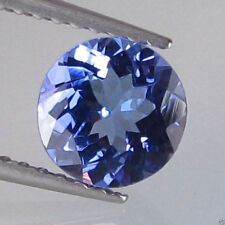 Round Transparent Loose Tanzanites