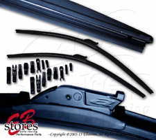 "Set of 2 P&H PTB I&L Arm Bracketless Wiper Blades 22"" Driver, 19"" Passenger Side"