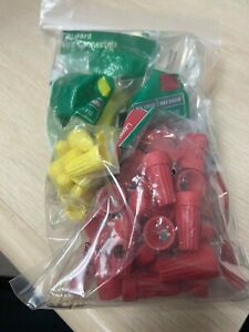 Commercial Electric Standard Wire Connectors, Red Yellow (120-Pack)