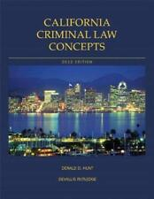 California Criminal Law Concepts - by Hunt