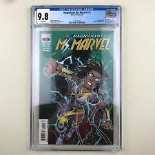 Magnificent Ms. Marvel #11 (2020) CGC 9.8, 1st full Stormranger, Mister Hyde