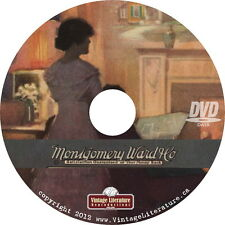 Montgomery Ward Catalog Collection { House Plans ~ Kits ~ Mailorder }  on DVD