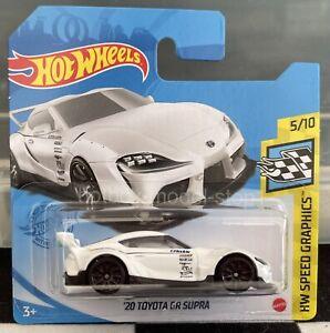 Hot Wheels '20 Toyota GR Supra White HW Speed Graphics 2021 Die-cast