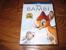 Bambi: Disney Signature Collection DVD Brand New; Factory Sealed + I Ship Faster