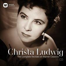 Christa Ludwig - The Complete Recitals On Warner Classics (NEW 11CD)