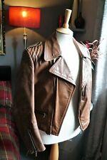 Horsehide Leather Biker Pilot Jacket Genuine WWII German Luftwaffe Military WOW