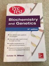 PreTest: Biochemistry and Genetics by Golder N. Wilson (2013, Paperback)