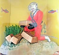 Decorazione animata per acquario dolce o marino in resina atossica