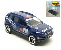 Majorette Dacia Duster Blue Racing Car 1:64 225A no Package Free Display Box