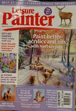 Leisure Painter UK Colour Mixing Acrylics Oils Pastels Jan 2015 FREE SHIPPING