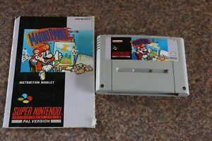 SNES Super Nintendo Game - Mario Paint