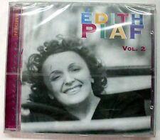 PIAF EDITH VOL. 2 LA VIE EN ROSE MON APERO LE VAGABOND CD SEALED