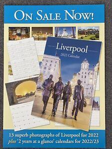 Liverpool 2022 A4 Calendar