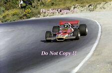 Graham Hill Gold Leaf Team Lotus 49B Canadian Grand Prix 1969 Photograph 2