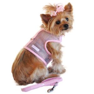 Doggie Design Pink Cool Mesh No Choke Dog Harness