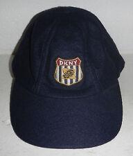Vintage DKNY Rugby Logo Felt Wool Baseball Hat Cap