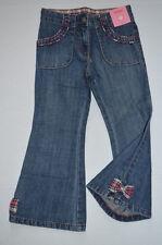NEW Gymboree HOLIDAY FRIENDS Gem Plaid Bow Denim Jeans Pant  4