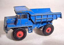 Matchbox No.28D Mack Dump Truck pre-production/colour trial model in blue