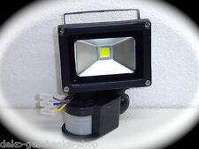 10 vatios SMD LED Reflector Foco CON SENSOR MOVIMIENTO EXTERIOR