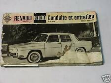 Renault R8 R1131 notice d'entretien N.E.900