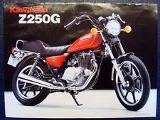 KAWASAKI Z250G - Motorcycle Sales Brochure - C.1980 - #P/N 99943-1155