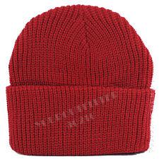 8f6da387928 Adult Kid Plain Ribbed Beanie Cap Camo Army Military Hunting Knit Ski  Winter Hat