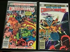 Marvel Super Hero Contest Of Champions1982  RARE  Newsstand/  Issues  #1 and #2