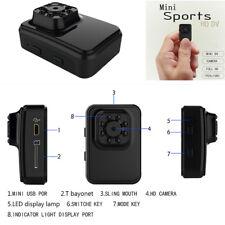 1x Mini DV WiFi Camera Video Recorder Portable Car Outdoor 1080P IR Night Vision