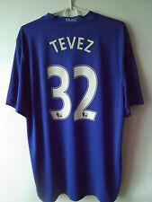 RARE!!! TEVEZ !!! 2008-09 Manchester United Third Shirt Jersey XL
