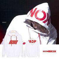 KPOP IKON Budokan Concert Hoodie Sweater Unisex JINHWAN Coat Sweatershirt Jacket