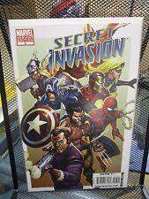Secret Invasion #8 Leinil Yu Color Variant Cover Marvel Comics Skrulls Avengers