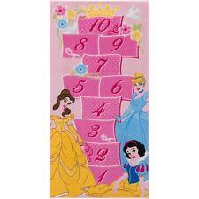 Teppich Kinderteppich Prinzessin Hinkelkästchen Lernteppich 80x160 cm rosa pink