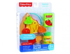 Fisher Price Counting Pizza Childrens Roleplay Educational Toy Food Set