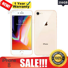 New listing Sealed Box Apple iPhone 8 Unlocked 256Gb Gold Smartphone At&T Verizon T-Mobile