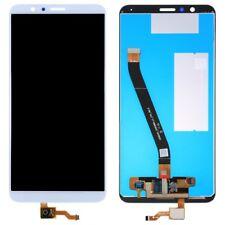 DISPLAY LCD+TOUCH SCREEN PER HUAWEI HONOR 7X BIANCO VETRO BND-L21 TL10 AL10 NUOV