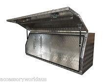 Tiger High Sided Ute Tool Box 1750 x 600 x 700mm. Aluminium Checker Plate