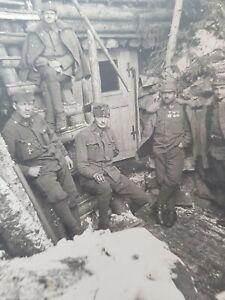 Foto AK - 1. WK - Dolomitenfront - Forte Dossaccio/Italien - 1917 - K.u.K.-Armee