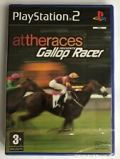 PS2 attheraces Presents Gallop Racer (2003), UK Pal, Brand New & Factory Sealed