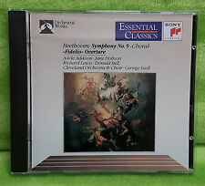 Beethoven: Symphony No. 9; Fidelio Overture CD Aug-1991 Sony Music George Szell