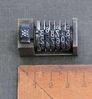 Numerierwerk Bleisatz Buchdruck Drucken Nummerierwerk Druckerei Typographie