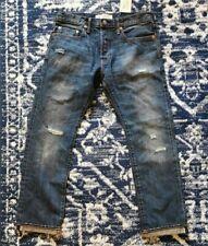 BNWT Gap 1969 Kaihara Japanese Selvedge Denim Jeans 32 x 28 Slim W32 L28 Indigo