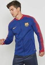 Nike 2018-19 FC Barcelona Anthem Men's Football Jacket Top Blue/Red Sz Medium