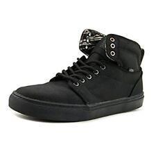 Vans Hi-Top Alomar Heavy Canvas Black/Black Canvas Sneaker Shoes Men Sizes Laces
