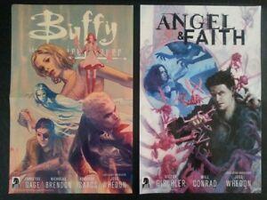 WonderCon 2014 Handout Dark Horse Comics Buffy The Vampire Slayer  Angel & Faith