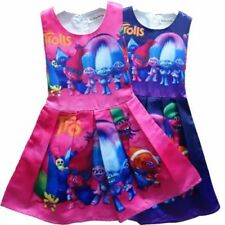 Princess Trolls Dresses for Girls