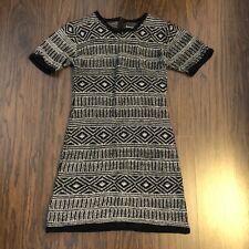 Lovemarks Sweater Dress size Large Short Sleeve Stretch