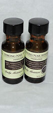 2 x PERFECT FORMULAS STRONG NAIL SYSTEM MOISTURIZES * DAILY NAIL MOISTURE * NEW