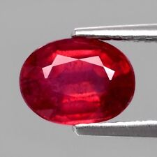 Only! $33.26/1pc 8x6mm Oval Natural Top Red Ruby (Heated Glass Filled)