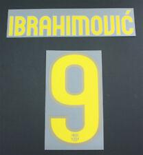 "09/10-Barcelona Casa del; Ibrahimovic"" 9 = Tamaño Junior"